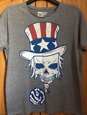 Unisex Men's Women's Skull T Shirt Size Medium