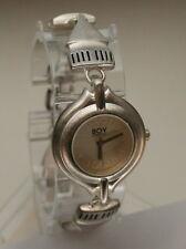 Rare Women's Boy London Acorn Metal Designer Bracelet Watch New Nos 1990s