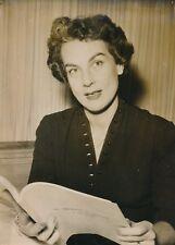 """Gloria Alcorta 1954 - Écrivaine """"Le Seigneur de Saint-Gorre"""" Prix - PR 1054"""
