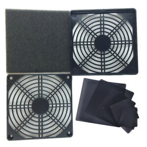PC Case Cooling Fans Magnetic Dust Filter Mesh Net Cover For PC Case Cooling Fji