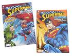 Superman Super Hero Jumbo Kids DC Comics Coloring Book  Activity Books Set of 2