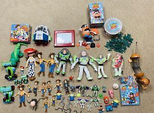 Disney Pixar Toy Story Lot of Buzz Woody Jessie Mr Potato Head Slinky + More