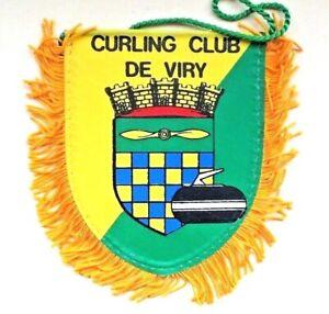 RARE Curling Club Mini Banner - De Viry Curling Club France