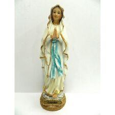 Statua Madonna di Lourdes in Resina Cm 23 - Arte Sacra Santo Idea Regalo