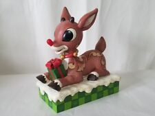 Jim Shore Rudolph Traditions Rudolph The Red Nosed Reindeer Enesco