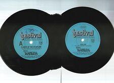 "WALLIS & MATILDA, CLANCY OF THE OVERFLOW / SOLAR 1980 OZ 7""x45rpm SINGLE RECORD"