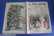 Le petit journal 1905 780 Roi Espagne Madrid Panama pont vapeur Versailles