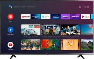 """TCL - 50"""" Class 4 Series LED 4K UHD Smart Android TV 50s434"""