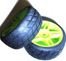 02020 1/10 en carretera Coche Rc ruedas y Neumáticos x 2 Verde