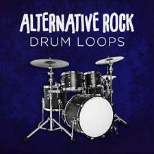 Alternative Rock Drum Loops - Indie Grunge Post-Punk - 24-bit WAV - Logic Cubase