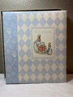 New CR Gibson Vtg Beatrix Potter Peter Rabbit Archival Grd Scrapbook 12.3x14.3""