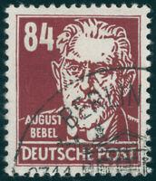 DDR, MiNr. 341 va XII, gestempelt, gepr. Schönherr, Mi. 100,-