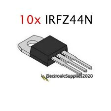 IRFZ44N IRFZ44 MOSFET N-Channel 49A 55V 55 Volts 10 PCS - USA Fast Shipping