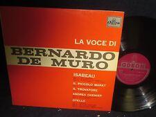 La Voce Di Bernardo De Muro LP Italy Import