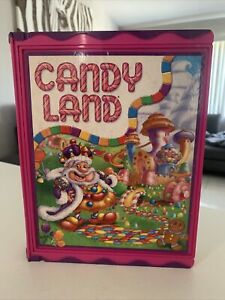 """Candy Land 2006 Classic Preschool Collectible Sleek""""Book Box""""Board Game Complete"""