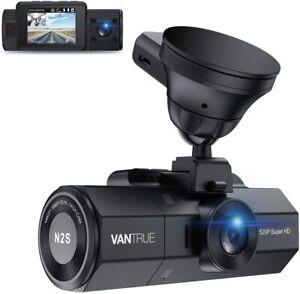 Vantrue N2S 4K Dash Cam | Front and Inside Dash Camera w/ GPS | Infrared NV