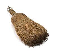 Small Vintage Hearth Whisk Straw Broom Primitive Americana