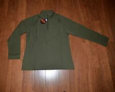 Womans UnderArmour Tactical, 1/4-zip, olive green, Coldgear size: Large, NWT