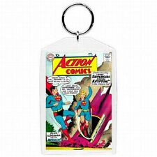 DC Comic Book Action Comics #252  Superman 1st Supergirl Cover Keychain