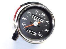 Speedo 150 MPH for Triumph Norton BSA smiths replica speedometer Black Face