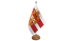 Westmorland Tisch Flagge mit Holz Ständer