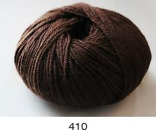 100% Luxurious Baby Alpaca Wool/Yarn Dark Chocolate 410 DK 50g knitting crochet