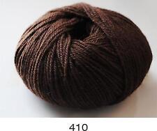 100% Luxurious Baby Alpaca Wool/Yarn Dark Chocolate 410 DK 50g knitting crochet