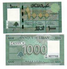 Liban Lebanon Billet 1000 Livres 2011 CEDRE UNC NEUF
