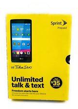 Sprint LG Tribute Duo Prepaid Unopened Box
