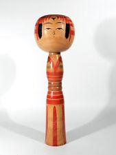 Vintage Japan KOKESHI Holz Puppe °° signiertes Unikat  °° wooden japanese Doll
