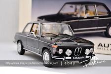 Autoart 1:18 BMW L2002 TII L 74 'black