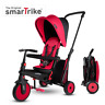 The Original smarTrike STR3, 6-in-1 Folding Stroller Tricycle, 10M+ - Red