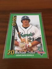 Mike Trout 2010 Cedar Rapids Kernels #3⚾⚾Rising Alumni⚾⚾LA Angels⚾⚾Free Shipping