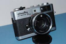 Minolta Hi-Matic 7s II Rangefinder Camera, w ROKKOR 40mm Lens F:1.7