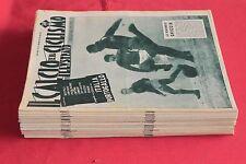 rivista CALCIO E CICLISMO ILLUSTRATO 1/52 ANNATA COMPLETA ANNO 1957