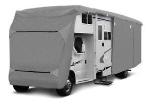 Wohnmobil Schutzhülle 610x235x275 cm Abdeckplane Schutzfolie Caravan Abdeckung S