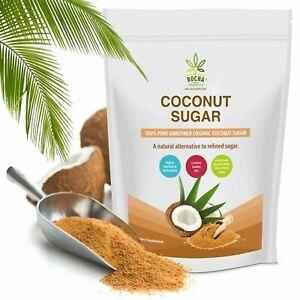 Organic Coconut Sugar Premium Raw Coconut Palm Sugar Everyday Superfood