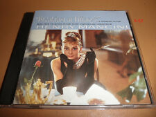 BREAKFAST AT TIFFANY'S soundtrack CD henry MANCINI audrey hepburn MOON RIVER