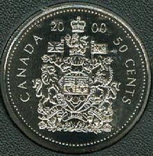 2000-W Proof-Like Half Dollar 50 Fifty Cent '00 Canada/Canadian BU Coin UNC