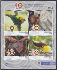 Colombia New Issue 2020-09-15 (SS) Birds