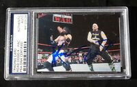 ROAD DOGG & XPAC Signed WWE WWF Smack Down Wrestling Card #9 - PSA DNA Slabbed !