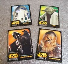 STAR WARS Episode III Collectible Cards - Pack of 4 - DARTH VADER ++  Scarce