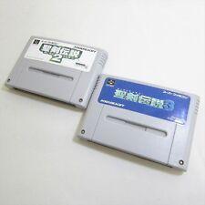 Super Famicom SEIKEN DENSETSU 2 3 Set Nintendo Video Game Cartridge Only sfc