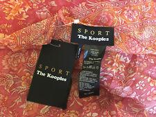 The Kooples Gipsy Imprimer écharpe 100% Soie BNWT
