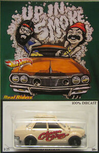Matchbox CUSTOM '70 DATSUN 510 Cheech & Chong Real Riders Limited 1/25 Made