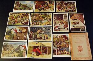 AK Das farbige Meisterwerk Serie 50 Pieter Brueghel Sprichwörter Woldemar Klein