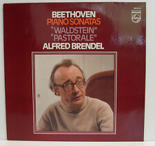 "BEETHOVEN ALFRED BRENDEL PIANO SONATE WALDSTEIN PASTORALE 12"" LP (e742)"