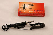 NEW CLIP ON ACOUSTIC GUITAR PICKUP/ ACOUSTIC GUITAR TRANSDUCER
