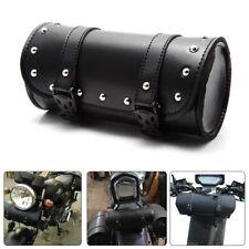 Motorcycle Handlebar Sissy Bar Bag Saddlebag Fork Roll Barrel Bag FOR Harley 883