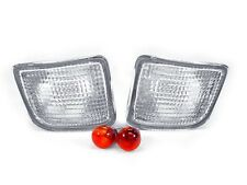 DEPO 1998 1999-2000 TOYOTA TACOMA 4WD CHROME CLEAR BUMPER SIGNAL LIGHTS LAMPS